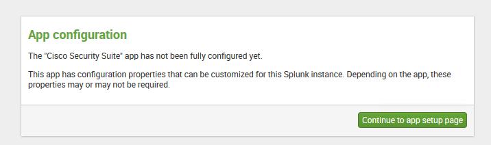 Cisco Security Suite in Splunk — Networking fun