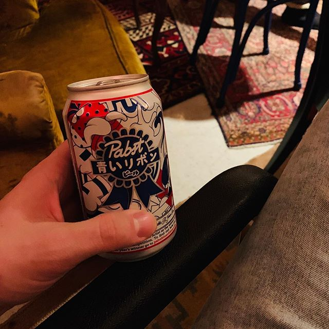 Sitting in a secretly-reclining armchair in a tiny room with a PBR is a good way to start 2019 showgoing