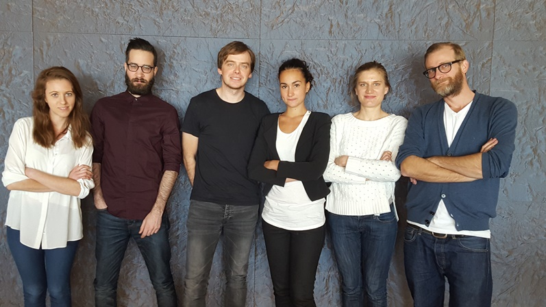 The graduate team consisted of Marta Monge, Maxime Moreaux, Gareth Ladley,Marina Mellado, Bronka de Sage, along with project director Silas Grant