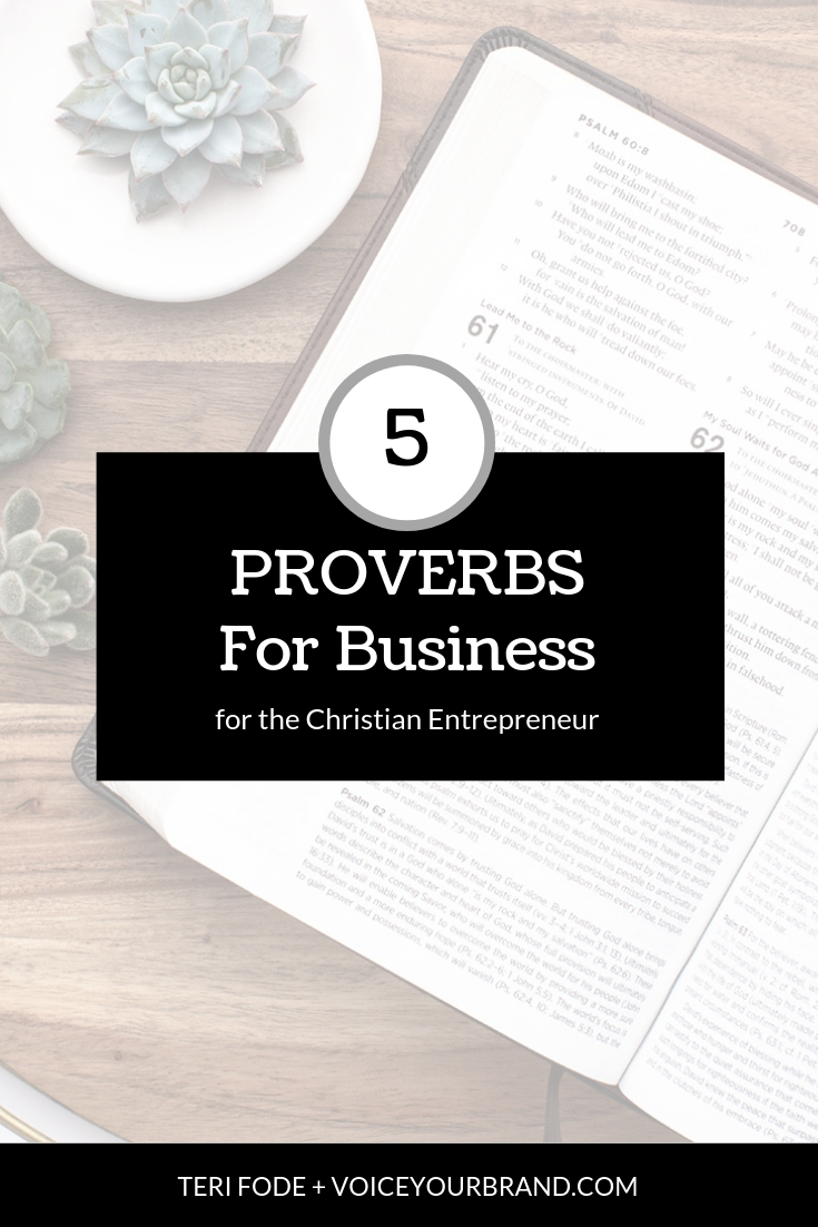 The Bible says a lot about business! If you are a Christian Entrepreneur or curious about what God says about running a business, check this out.