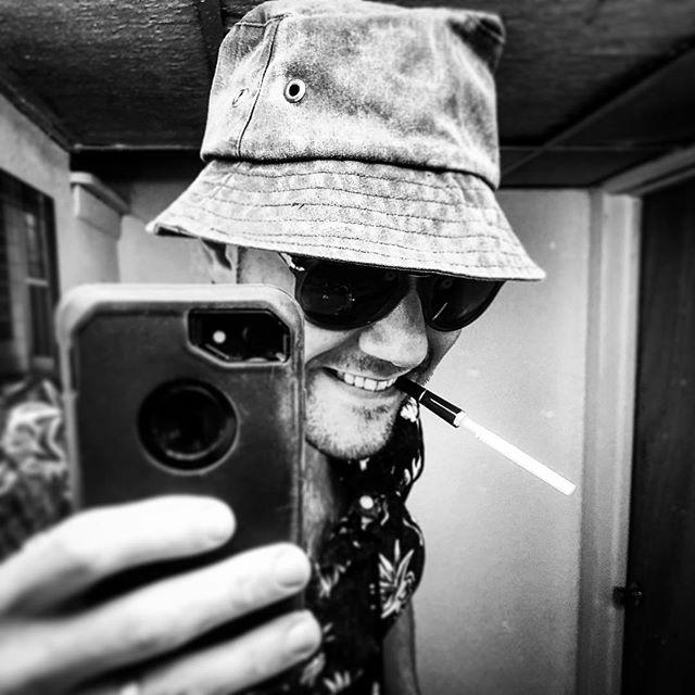 Nicotine, valium, vicadin, marijuana, ecstasy, and alcohol 🦇 @rx.gonzo #feelgoodhitofthesummer  #huntersthompson #itnevergotweirdenoughforme #fearandloathinginlasvegas #wherethebuffaloroam #mcc #halloween #costumeparty #chıvasregal