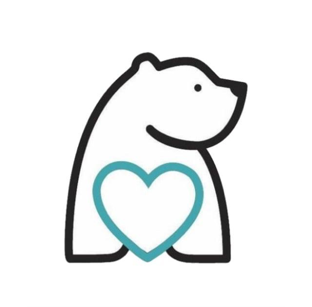 bearhugs gift boxes logo hugo the bear