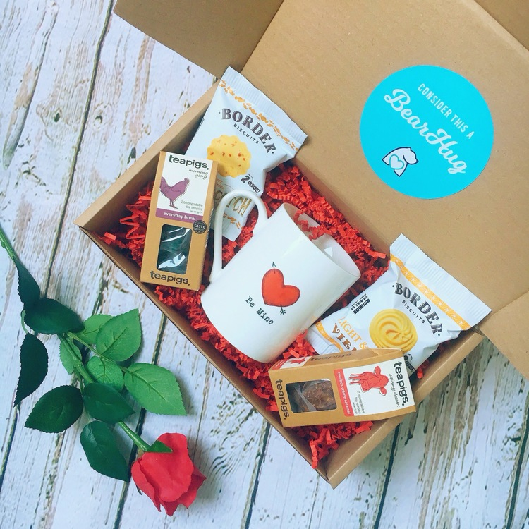 valentines gift hamper bearhugs