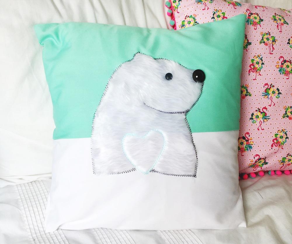 bearhugs handmade cushion