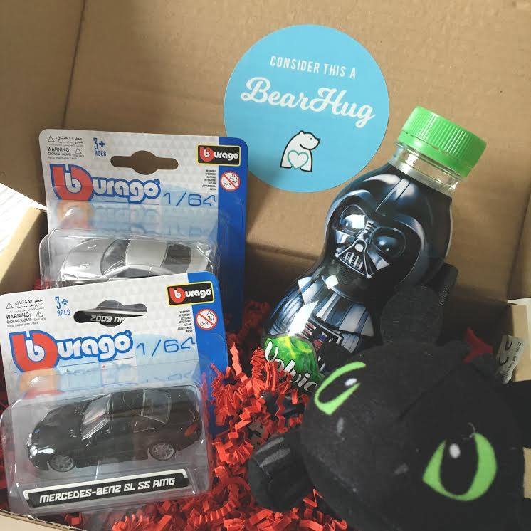 bearhugs gifts box for post pals seriously ill child