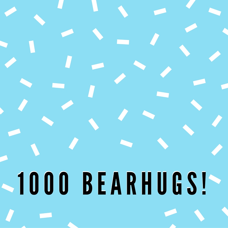 1000 bearhugs gift boxes sent princes trust business.