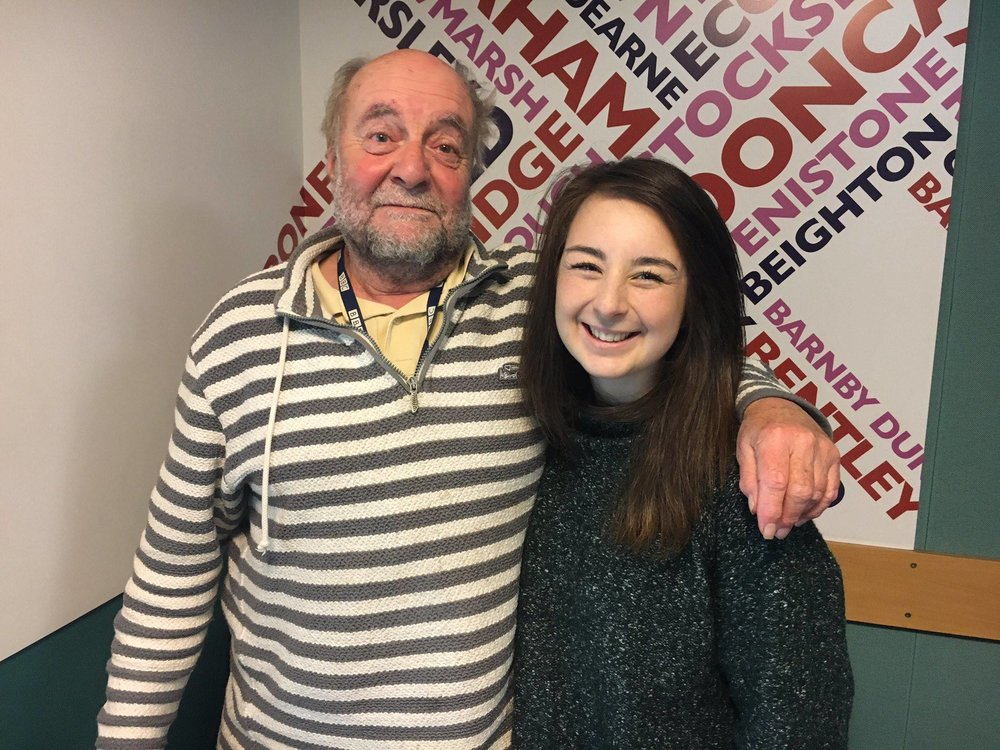 faye savory bearhugs rony robinson bbc radio sheffield
