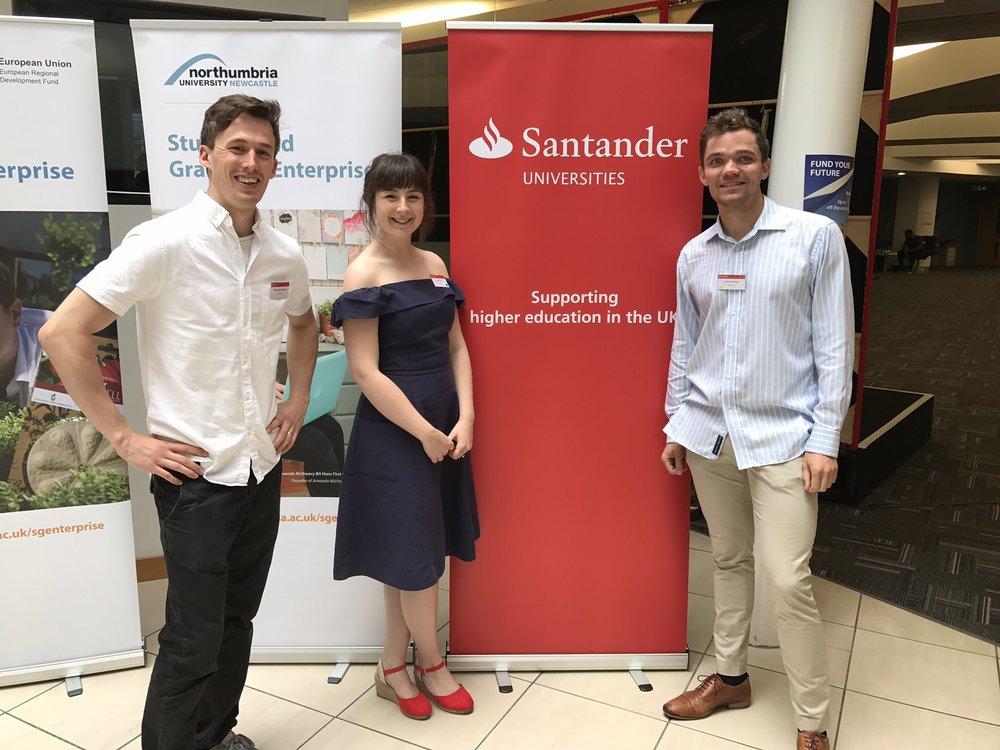 bearhugs Faye savoury Santander university entrepreneurship awards