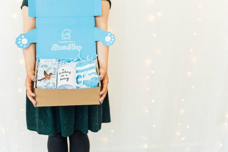 bearhugs Christmas gift boxes