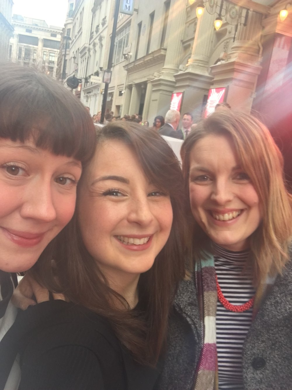 Team BearHugs at Prince's Trust Awards 2018 at The London Palladium