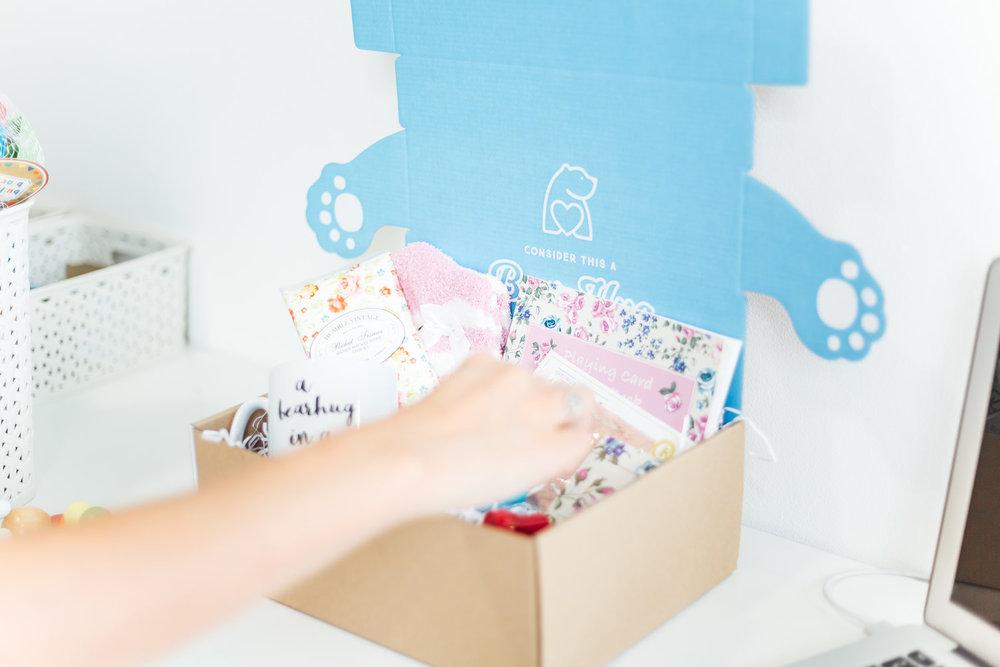 bearhugs gifts social enterprise donation scheme giving back