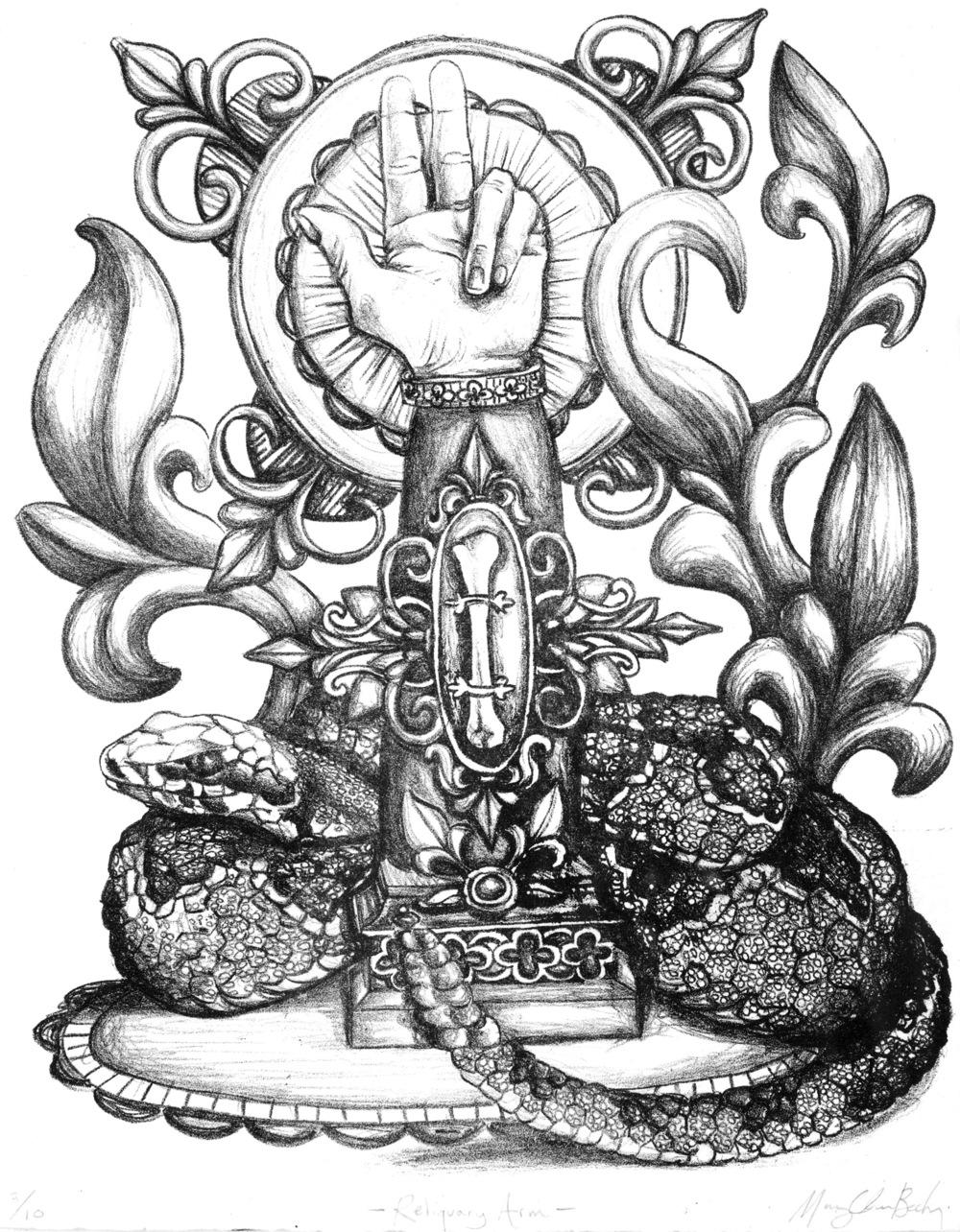 Reliquary Arm