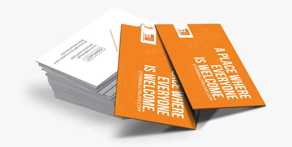 Business card design Nashville, TN | Michael Hoss Design