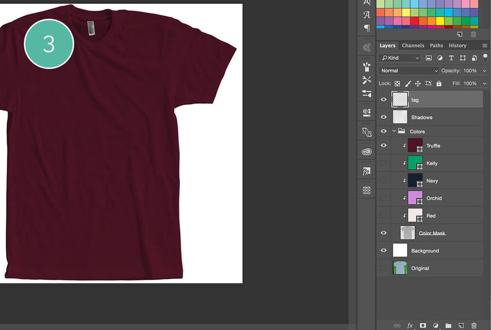 How to Create a T-Shirt Mockup | Michael Hoss Design | Graphic design Nashville, TN.