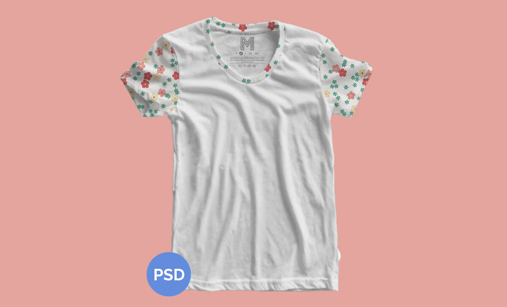 Free Women's T-shirt Mockup | Michael Hoss Design | Graphic design Nashville, TN.