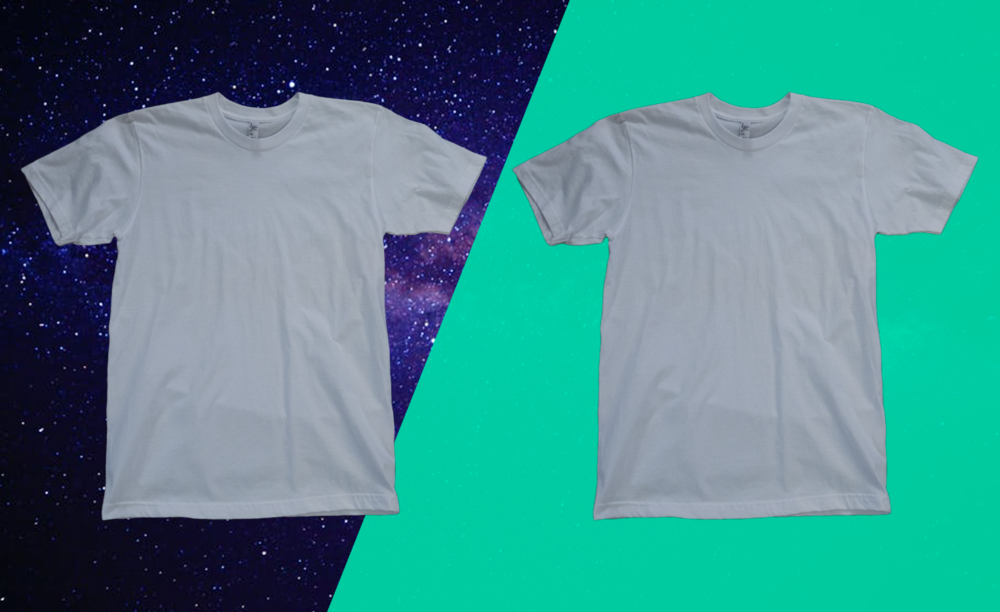 How to remove a t-shirt from the background, different backgrounds