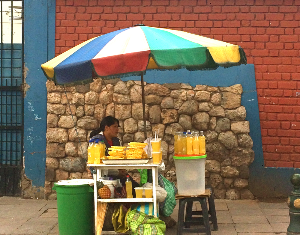 #foodisourfriend Cuzco street food travel