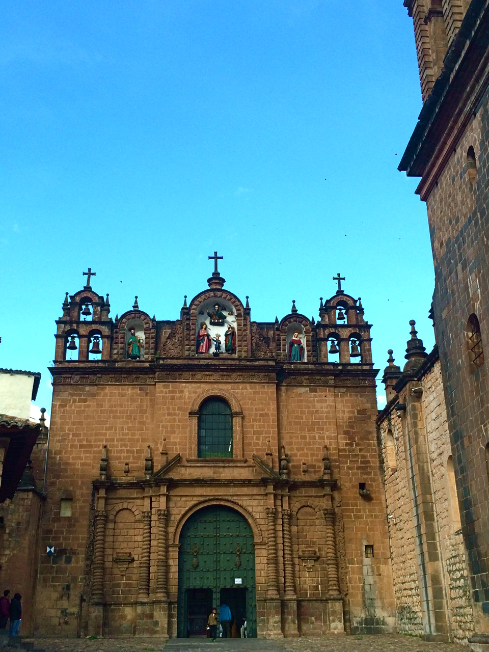 #foodisourfriend travel - Cathedral in Cuzco, Peru.