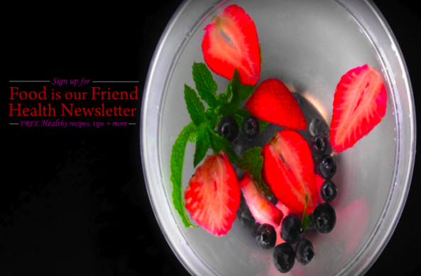 #foodisourfriend healthy cooking club sign-up