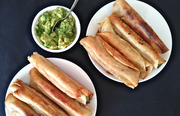 #foodisourfriend zucchini taquitos - IM Nutrition recipe - shred 10