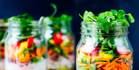 #foodisourfriend IM Nutrition UT - salads in a jar party