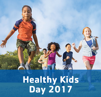 YMCA UT Healthy Kids Day 2017 #foodisourfriend pop-up health event