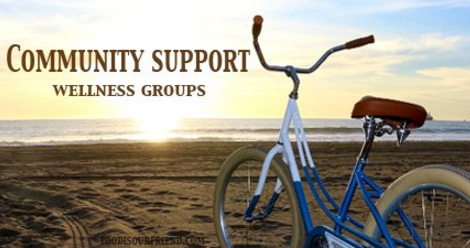 #foodisourfriend health wellness community support facebook groups