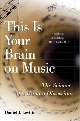 This book is all about what happens to your brain when you listen to music, and also when you play an instrument or sing.