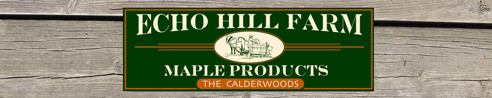 Echo Hill Farm Maple products