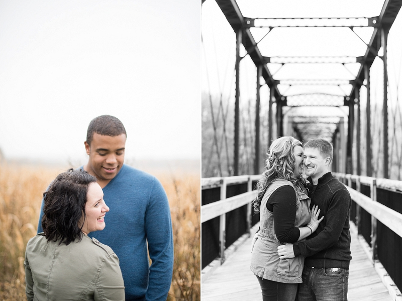 Connell's Family Orchard, Chippewa Falls + Chippewa River State Trail | Engagement Sessions