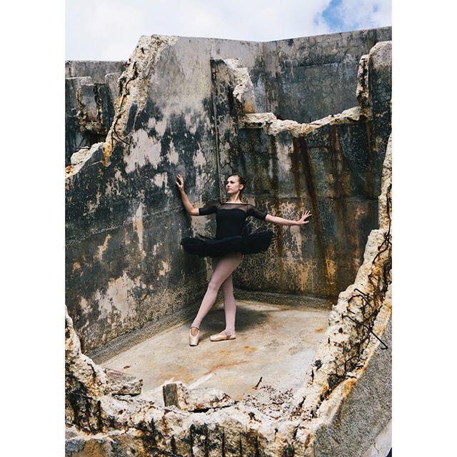 A ballerina from the Cuban National Ballet shot in Havana in 2015 💃🏻