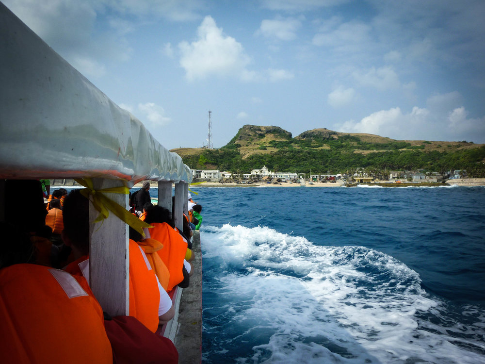 Ride a ferry across the South China Sea to Sabtang
