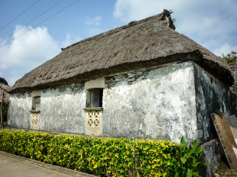 Visit a traditional Ivatan house built to withstand typhoons