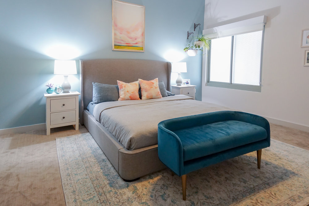Project Reveal: Contemporary French Victorian Bedroom U2014 Tetrachrome Design,  LLC