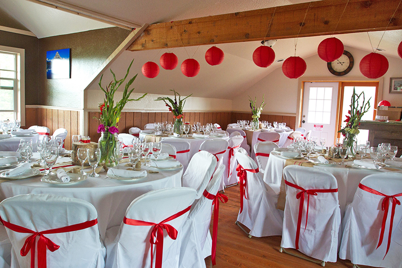 Indoor wedding packages ..