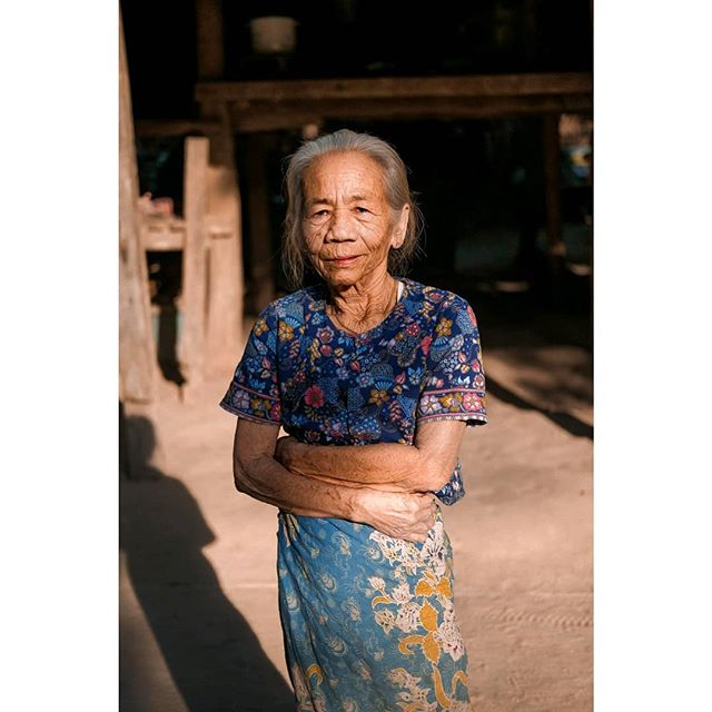 Portrait of a woman in Myanmar, 2018.  Creating portraits like this is a great way for me to meet new people and it instantly brings me back to the moment we shared together.
