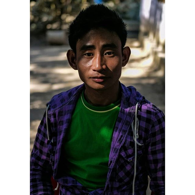 Portrait of a man, Yangon, Myanmar.