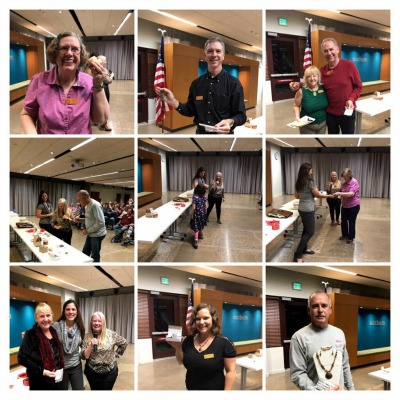 Our Member Raffle winners from our January Rock Club Meeting!