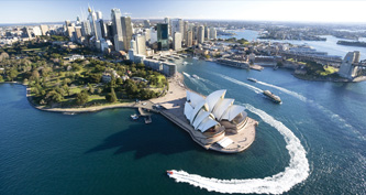 This Week in Sydney Map - English & Chinese Editions