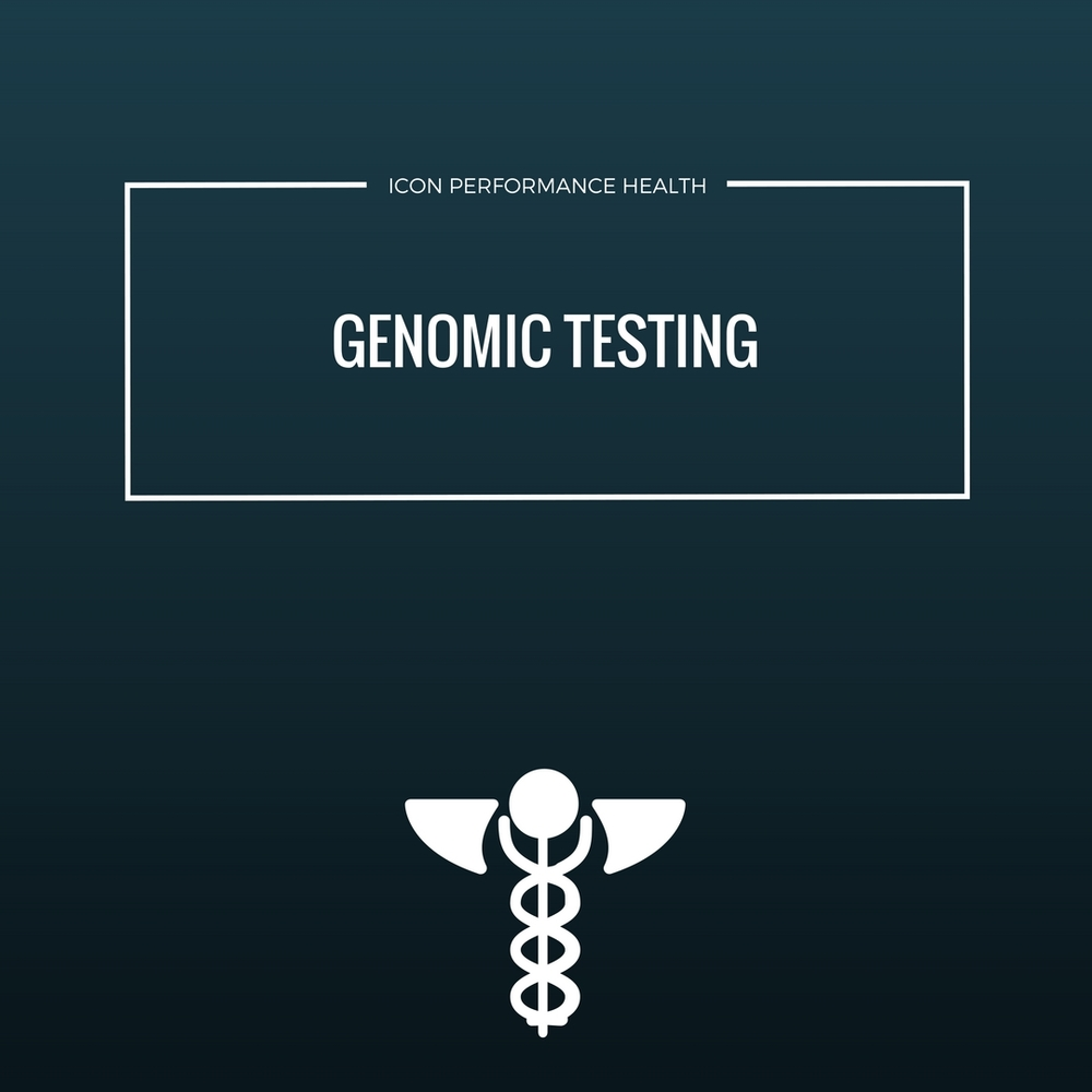 GENOMIC TESTING :ROUTINE HISTORY AND EXAMINATION. GENOMIC TESTING WITH A  FULL ONLINE REPORT AND RECOMMENDATIONS.   COMPLETE GENOMIC TESTING : 12 WEEK GENOMIC TESTING and reporting. MONTHLY follow ups plus supplement, NUTRITION and training protocols over the full 12 weeks.