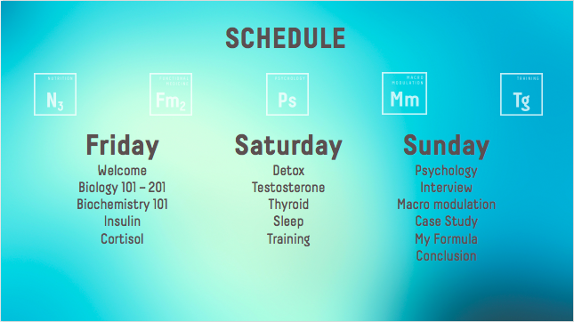 Christian Maurice schedule.png