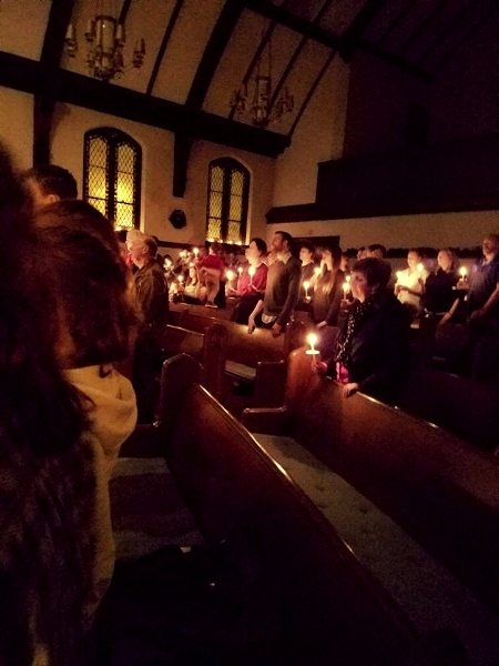 Candlelight Service, 2016