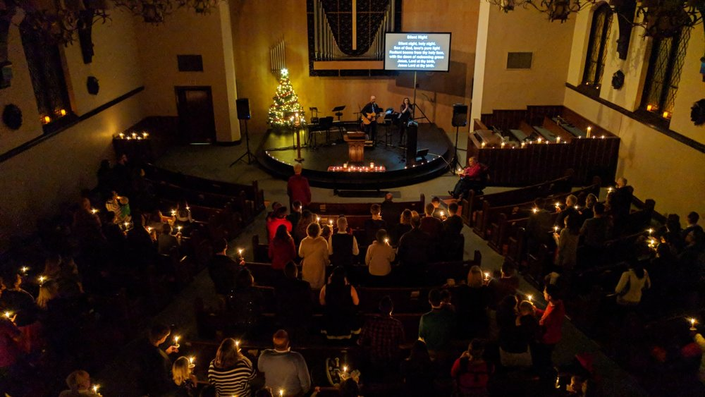 Candlelight Service at Trinity City Church, Christmas Eve 2017