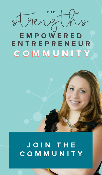 The Strengths Empowered Entrepreneur Community https://strengthscommunity.com