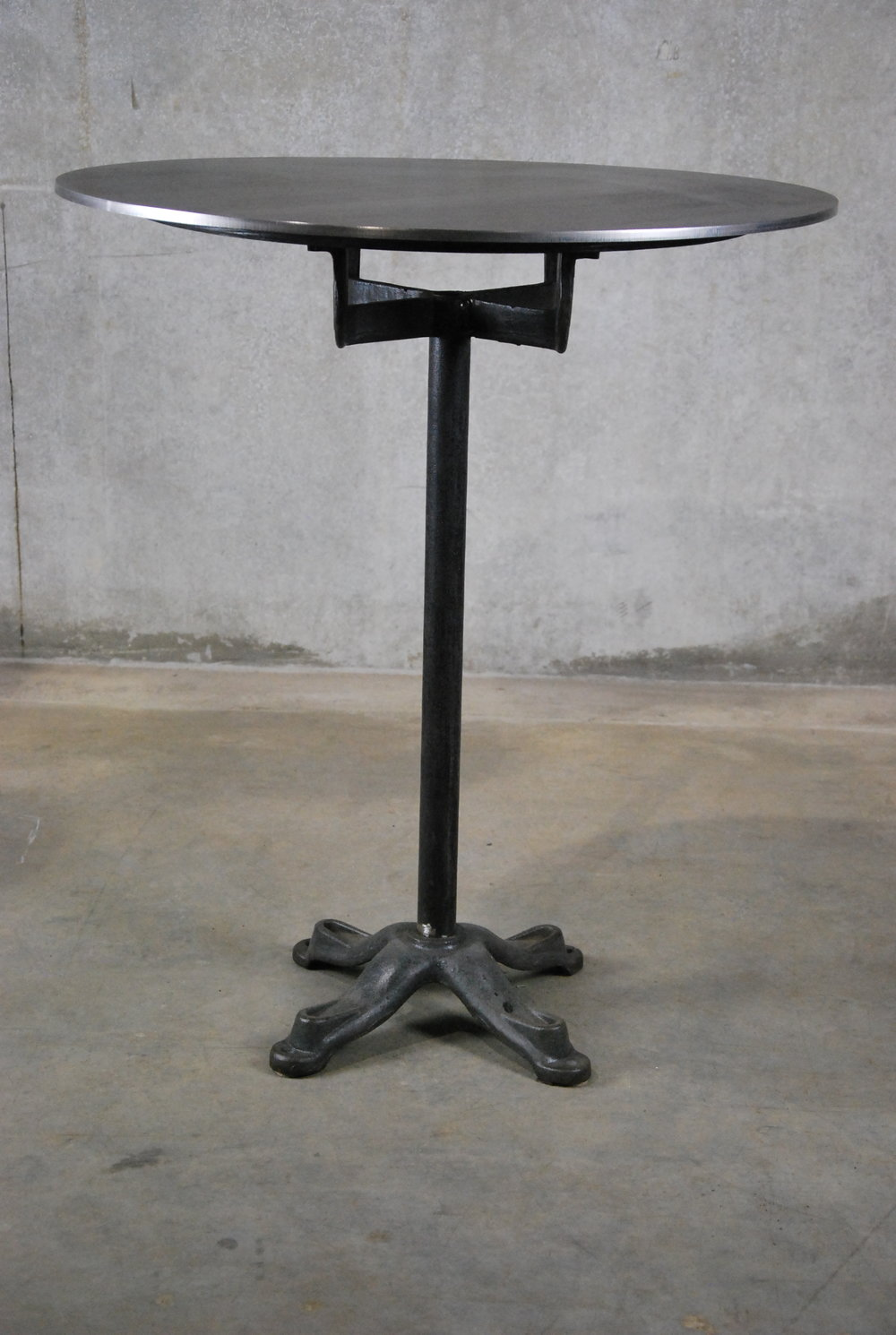 1930 American Industrial Pedestal Table