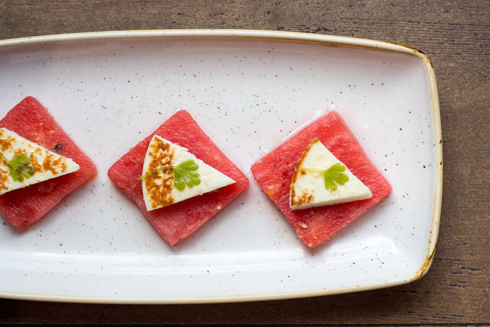 Watermelon & Farmer's Cheese