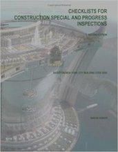 Checklists for Construction Special and Progress Inspections- 2nd Ed Paperback – November 14 2013 - Naeem Anwar.jpg