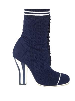 Fendi Sock Heels