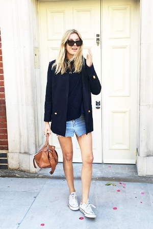 Le-Fashion-Blog-Blogger-Style-Polished-Meets-Casual-Look-Sweater-Navy-Military-Blazer-Distressed-Denim-Skirt-Brown-Loewe-Bag-Converse-Sneakers-Via-Camille-Over-The-Rainbow.jpg