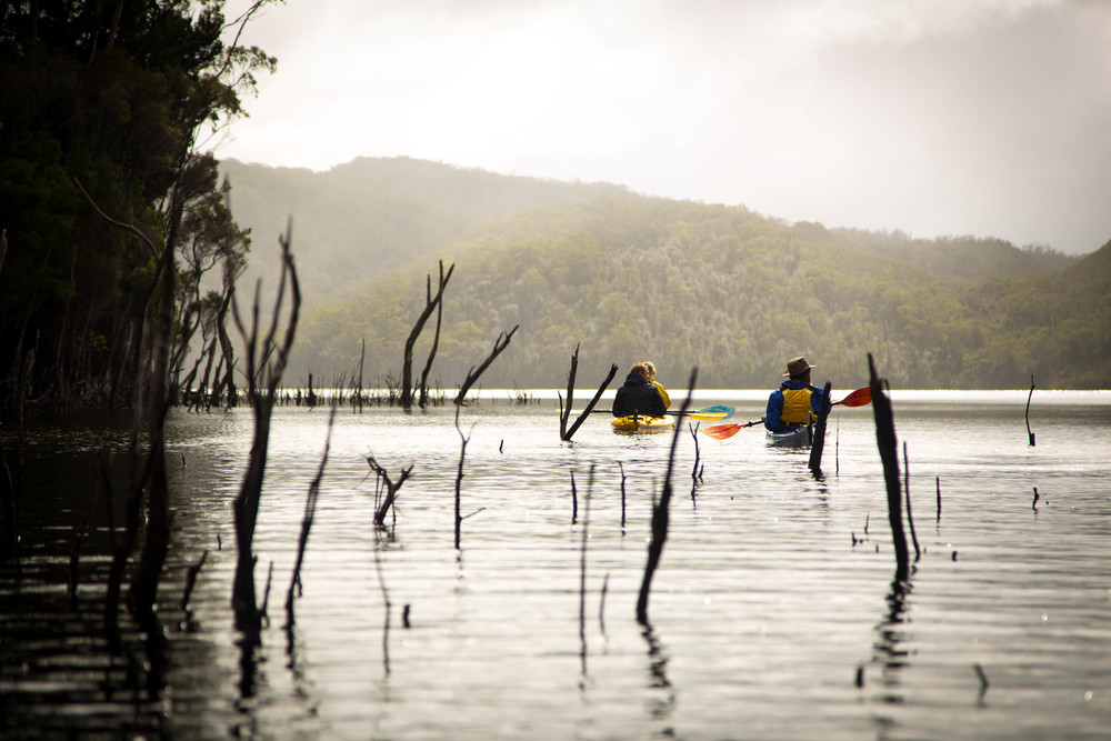 Wild Pedder - Kayaking Lake Pedder